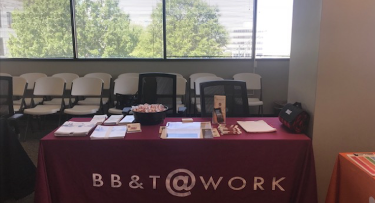 Bbt health fair booth photo