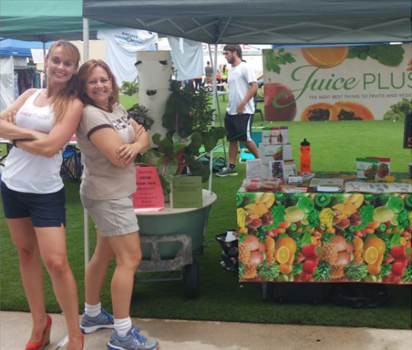 Invite Juice Plus to your employee health and wellness fairs in Atlanta, GA