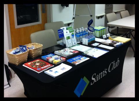 Invite Sam's Club to your employee health & wellness fairs in Atlanta, GA