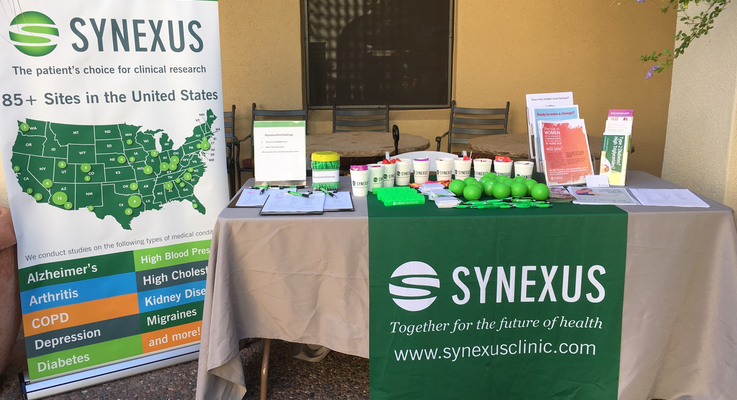 Synexus booth