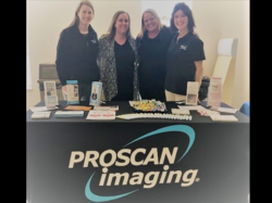 Proscan health fair booth banner