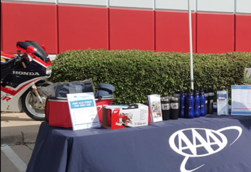 Invite AAA to your employee health and wellness events