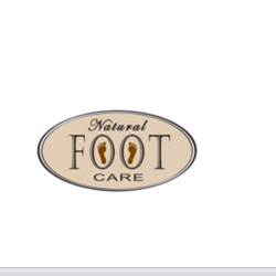 Natural foot care logo
