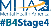 Mha logo over  b4stage4 with r  color