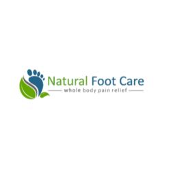 Natural foot care logo