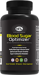 Bottle of Blood Sugar Optimizer
