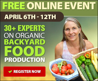 Grow organic food in your backyard