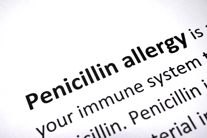 penicillin allergy