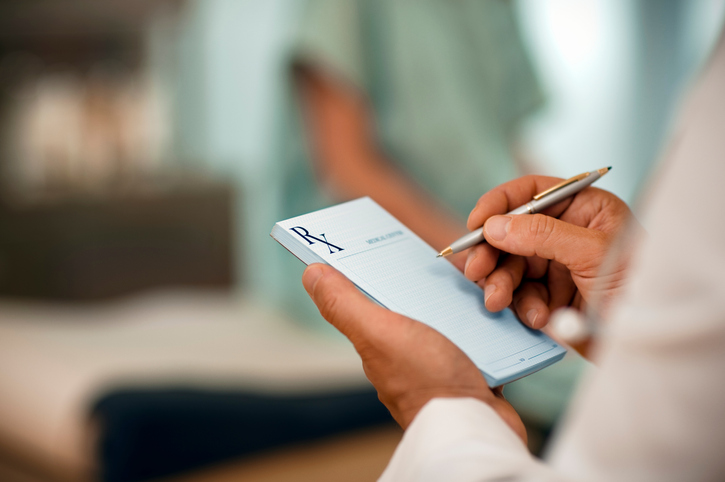 prescription pad for pcsk9 or statin