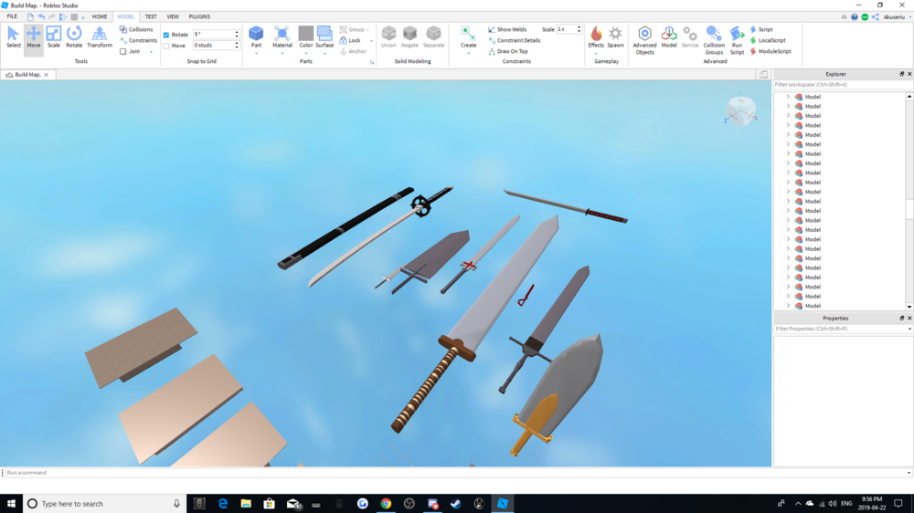 Weapon Builds 100 Robux Per Weapon Or 500 For All The Weapons