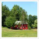 cabin field