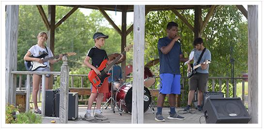 Rockband Performance