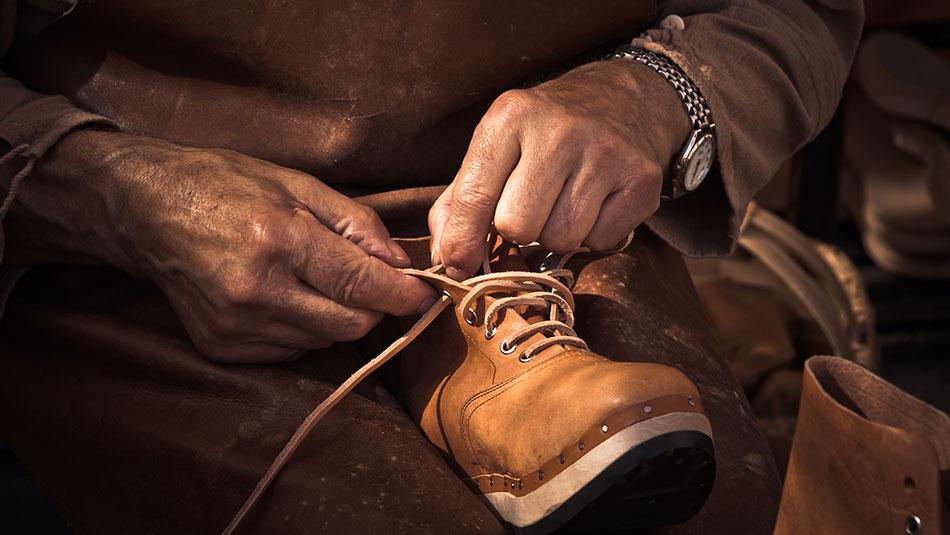 Cobbler Makes New Shoes