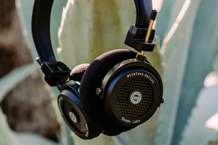 Grado GW100 Wireless Headphones with Plants