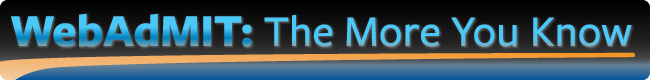 WebAdMIT logo