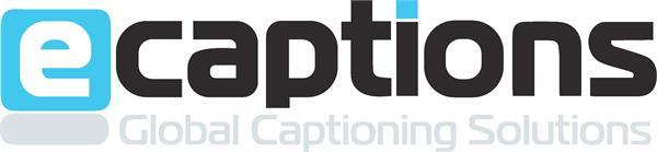 eCaptions logo
