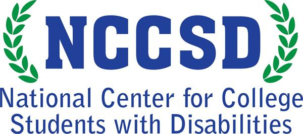 National Center for College Students with Disabilities (NCCSD) logo
