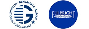 Benjamin A. Gilman International Scholarship Program and Fulbright U.S. Student Program logos