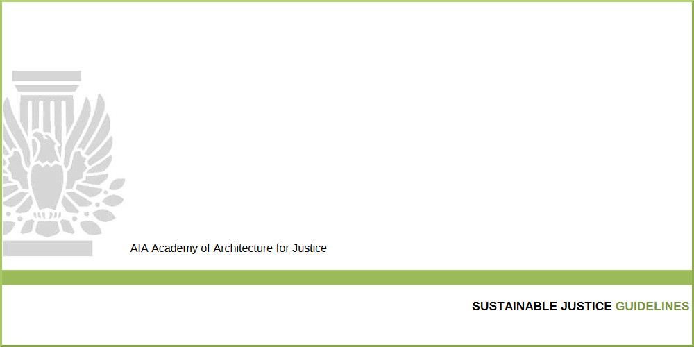 Sustainable Justice cover