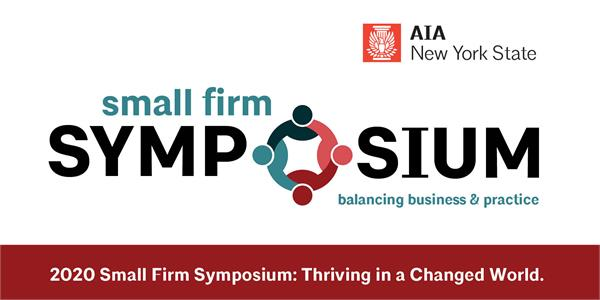 AIA NYS' small firm Symposium starts this Friday Nov 13th!