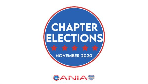 Announcement of Chapter elections to take place in November, 2020