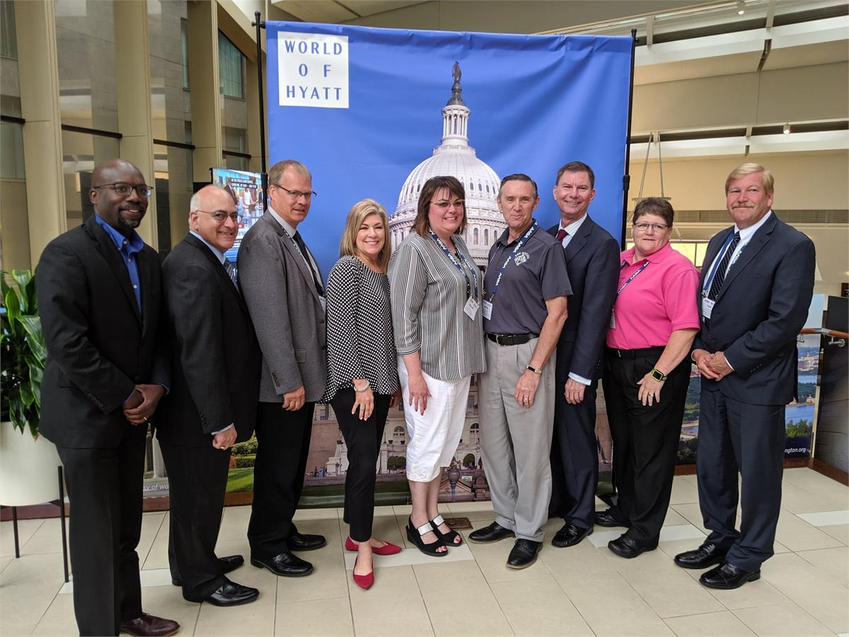 Several members from the LAC who attended the 2019 Legislative Advocacy Conference