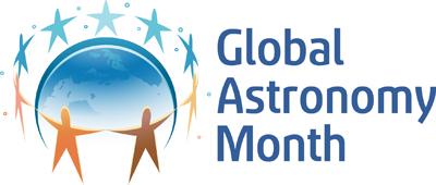 Global Astronomy Month Logo