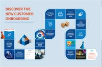 New customer onboarding map