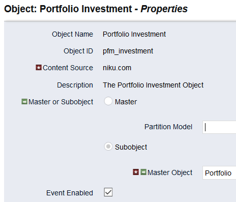 portfolio inv. event enabled