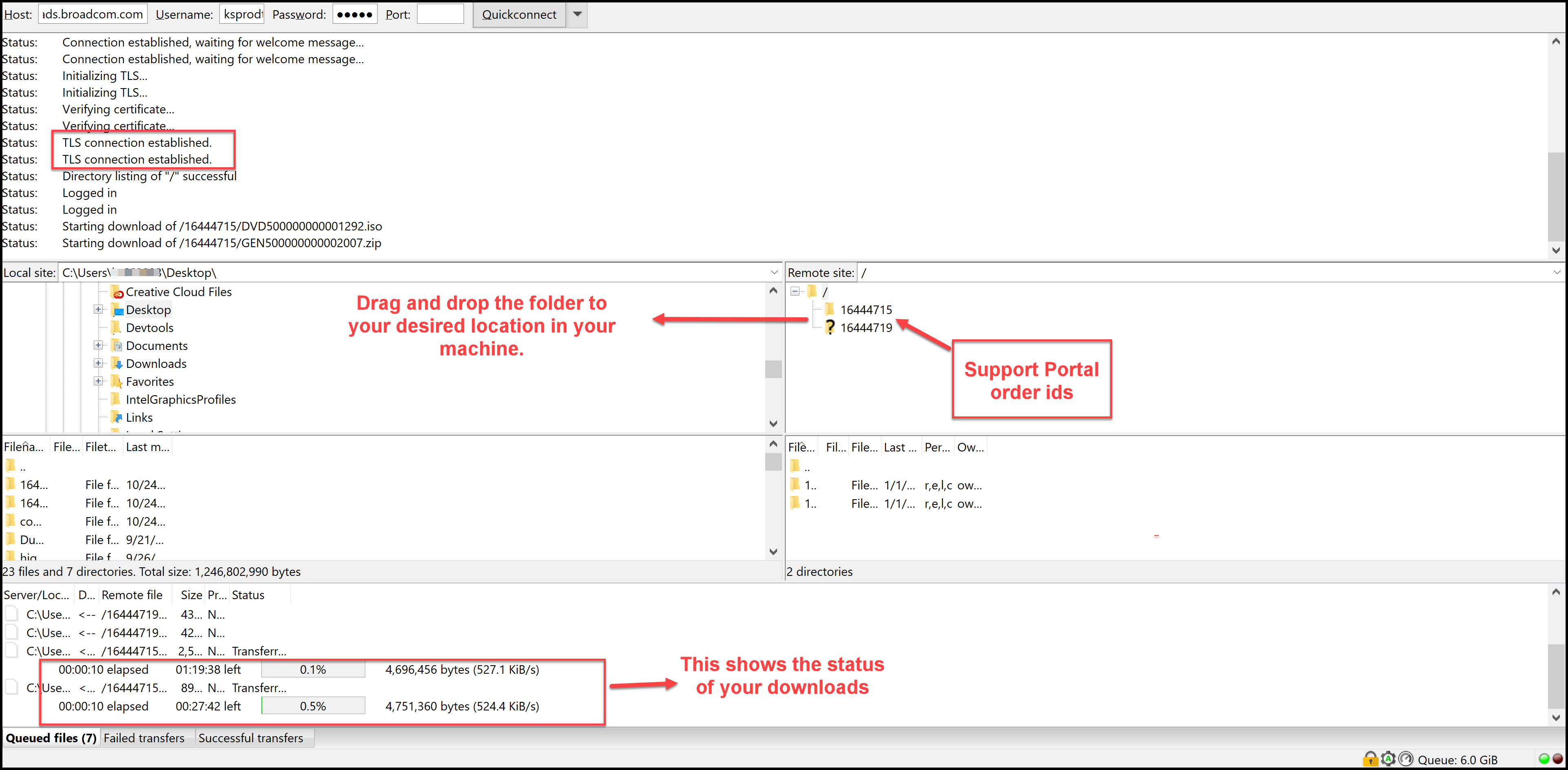 Ca Support Portal Filezilla product download