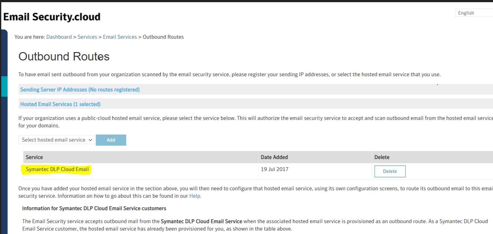 The DLP Cloud Service