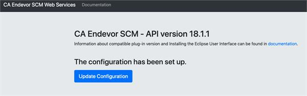 Confirm the WebServices API version that is running...