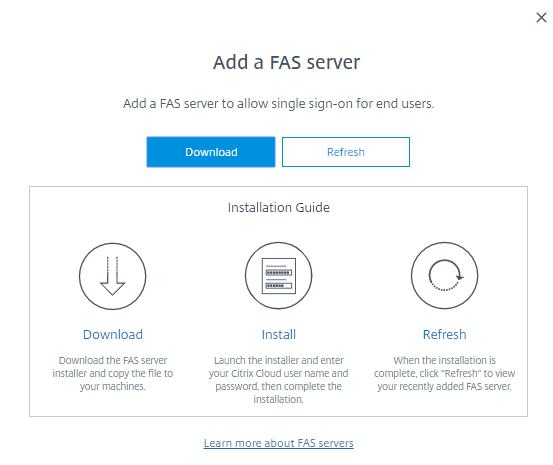Citrix Cloud, Citrix Workspace Experience and Federated