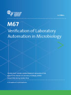 Image of M67: Verification of Laboratory Automation in Microbiology, 1st Edition
