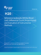 Image of H20: Reference Leukocyte (White Blood Cell) Differential Count (Proportional) and Evaluation of Instrumental Methods, 3rd Edition