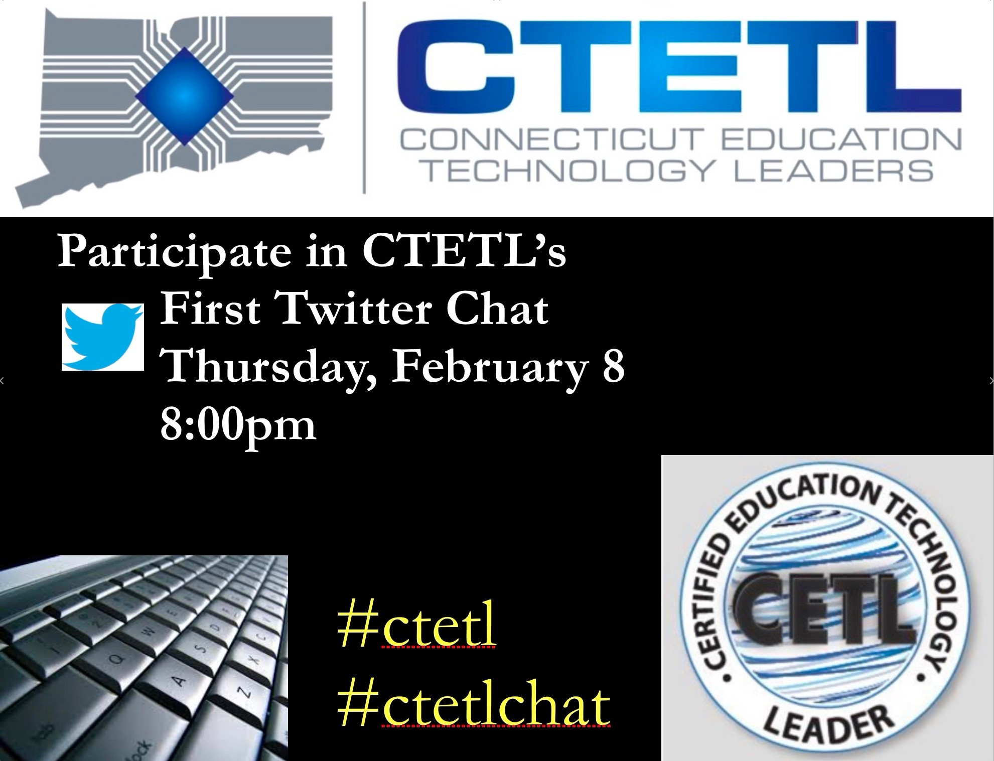 Join Our CTETL Chat Feb 8 at 8pm