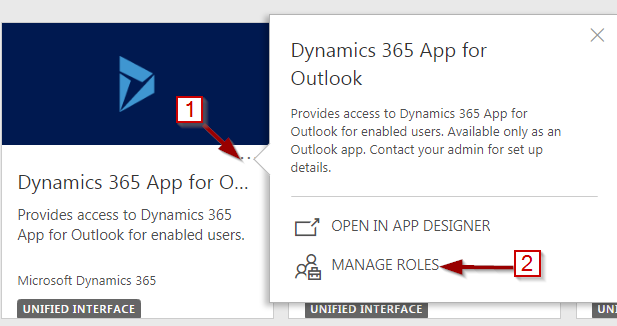 Dynamics 365 App for Outlook