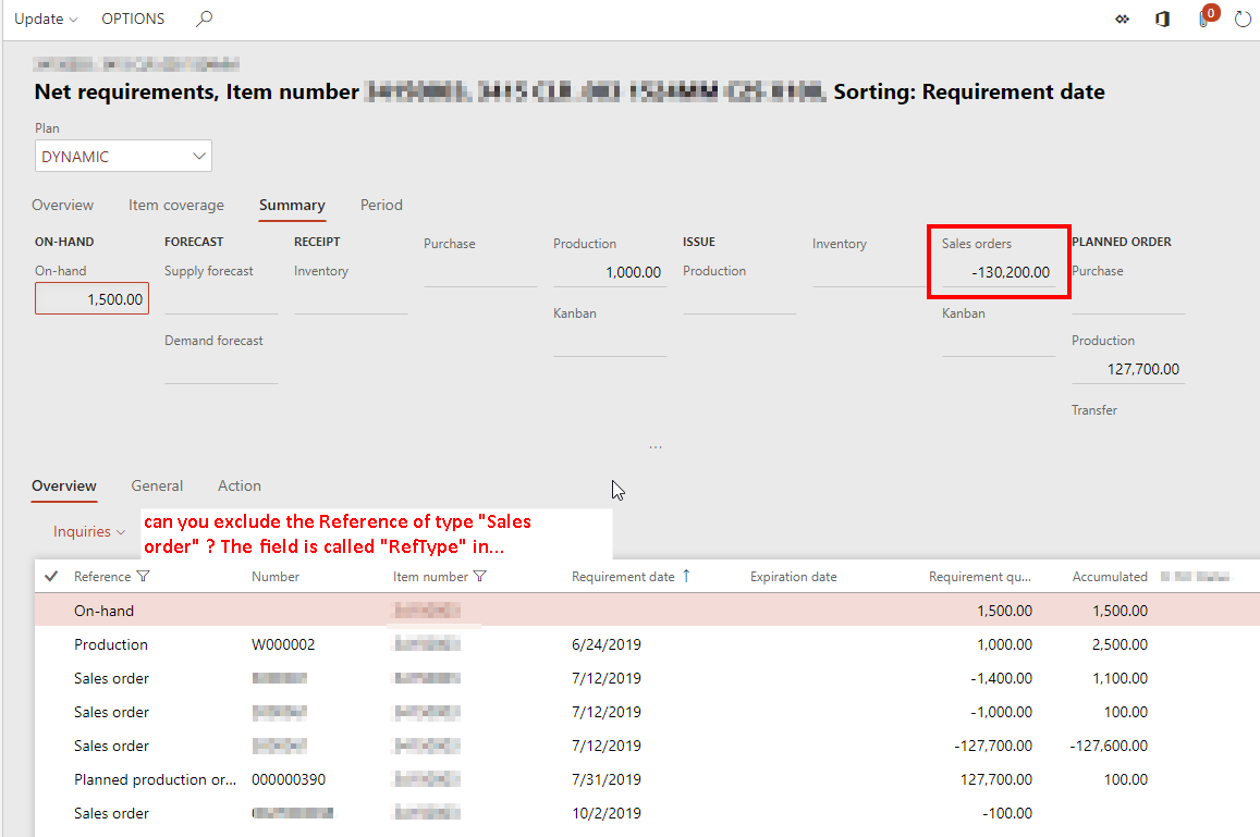 AX 2012 MRP - Requirement Profile | D365 Finance