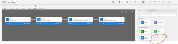 Workflow is missing from Composition Options in BPF