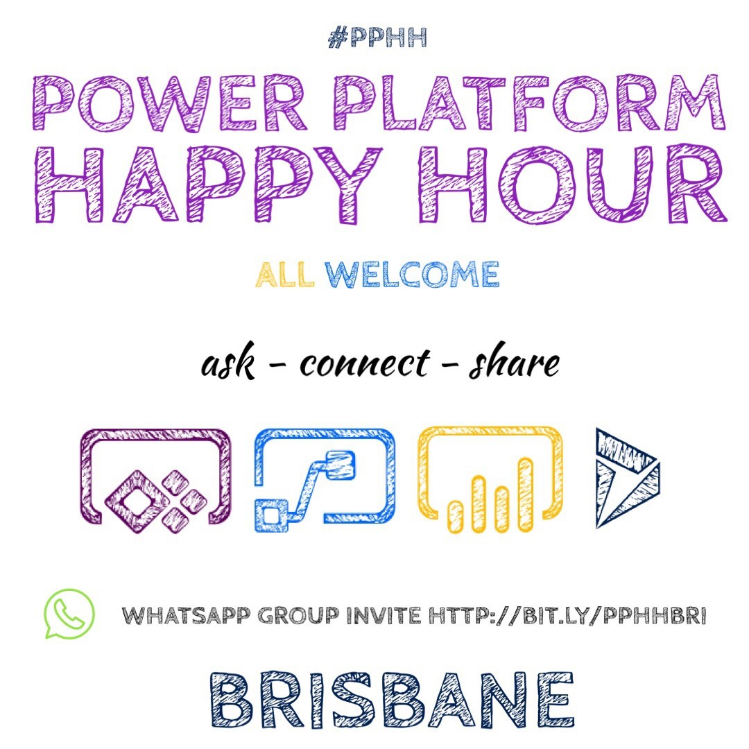 Power Platform Happy Hour - Thu 11 Apr - Dynamics 365 User Group