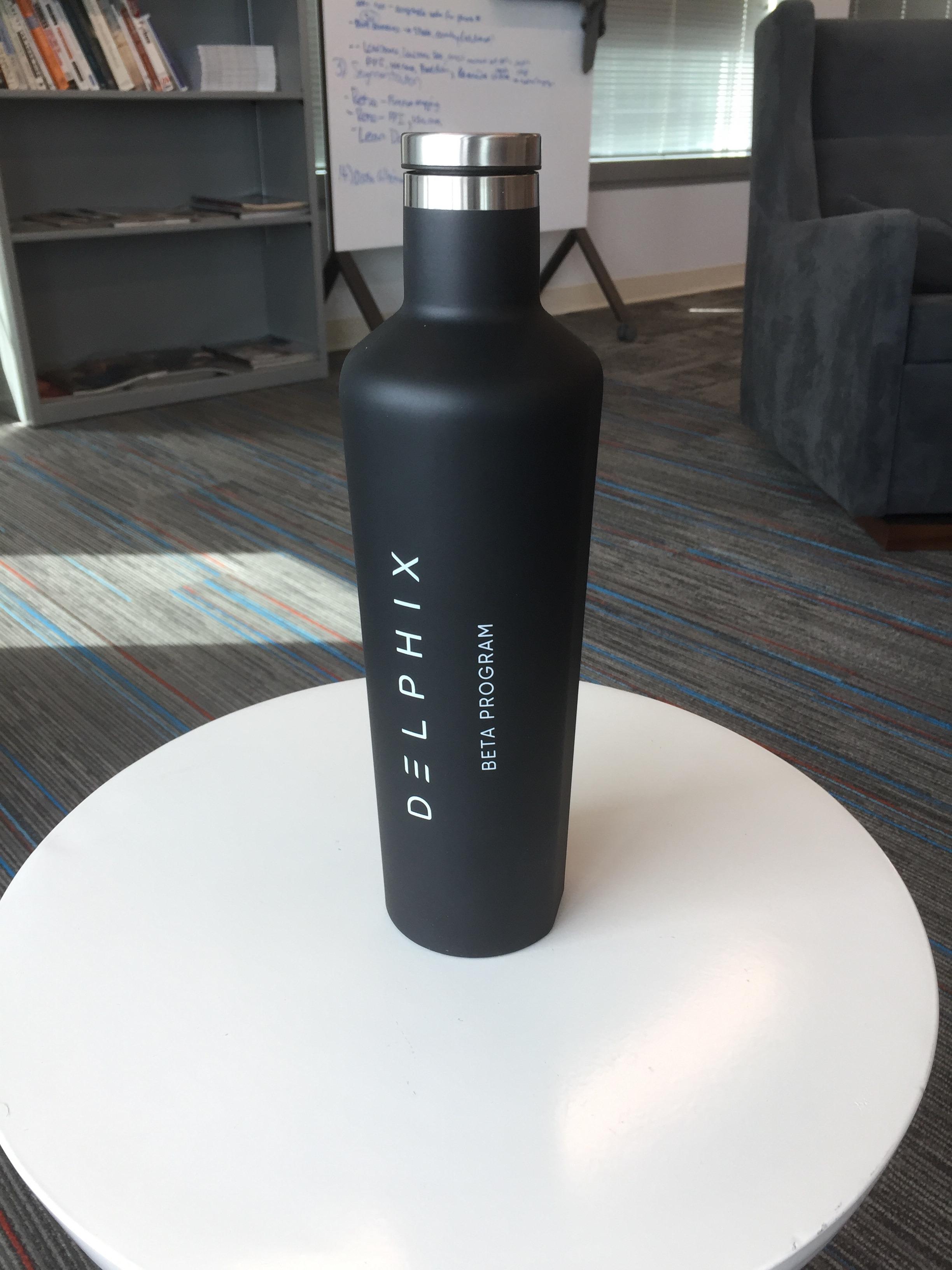 Delphix Water Bottle