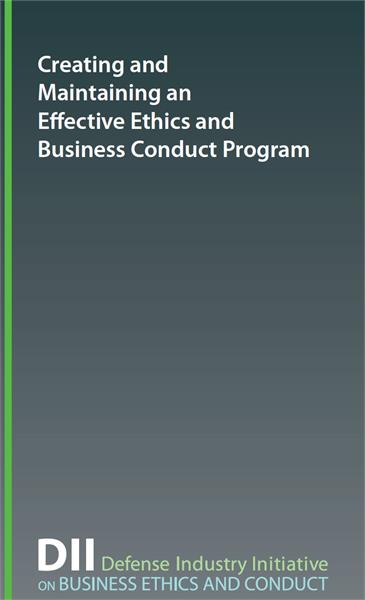 Creating and Maintaining Ethics Business Program