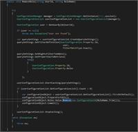 C# code sample for Remove Role