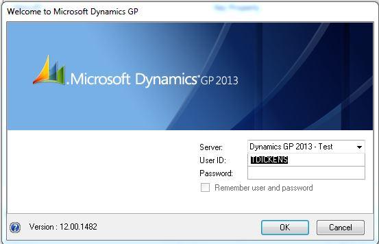 Open Forum - GPUG - Dynamics GP User Group