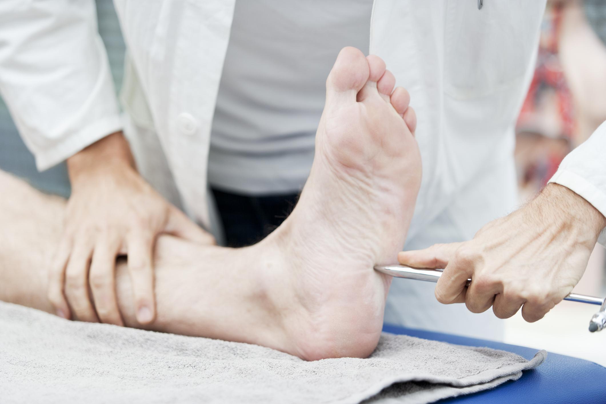 Diabetic Foot Ulcer Neuropathy Test