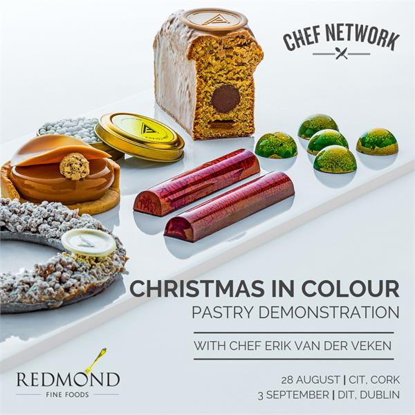 Christmas in Colour | Chef Network & Redmond Fine Foods