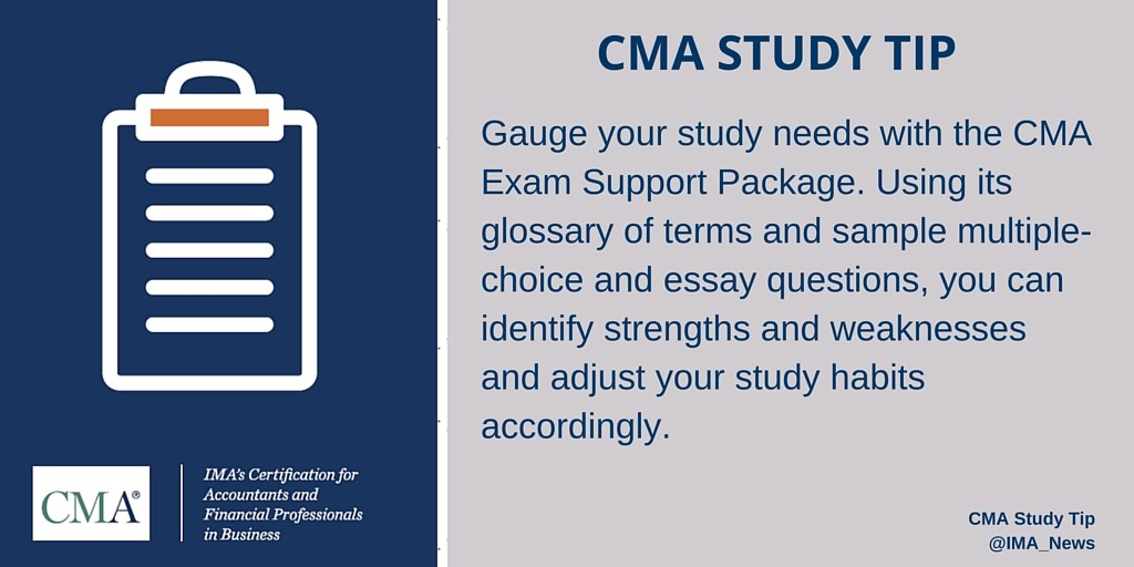 CMA Community - Study Group - Institute of Management Accountants
