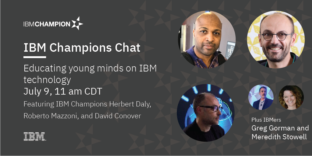 Image of IBM Champion Chat: Educating young minds on IBM technology