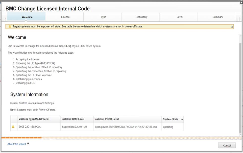BMC Change Licensed Internal Code