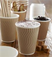 paper coffee cups and supplies